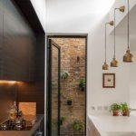 Desain Dapur Sederhana Dua Sisi Dengan Dua Konsep Berbeda