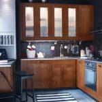 Desain Dapur Sederhana Leter L