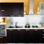 Desain Dapur Sederhana Lurus