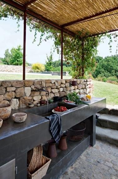 Desain Dapur Sederhana Outdoor