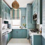 Desain Dapur Sempit Bentuk U