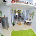 Desain Dapur Terbuka Dibelakang Rumah Minimalis