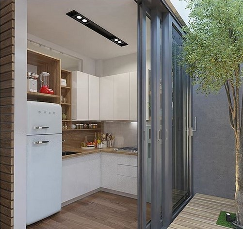 8800 konsep rumah dengan halaman belakang Terbaru