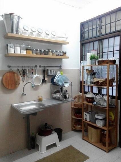 Desain Dapur Ukuran Kecil Sederhana