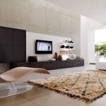 Desain Interior Ruang Tamu Kecil Tanpa Kursi
