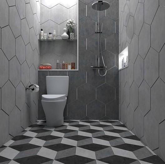 Contoh Keramik Kamar Mandi Minimalis Modern | Cat Rumah ...