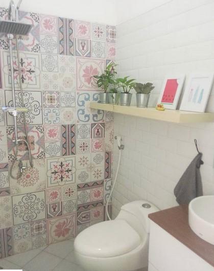 Desain Kamar Mandi Shower Box - Rumah Joglo Limasan Work