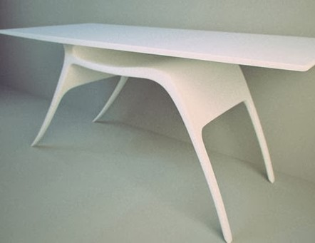 Desain Meja Kerja Minimalis The Reinderr Desk