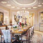 Desain Ruang Makan Keluarga Mewah