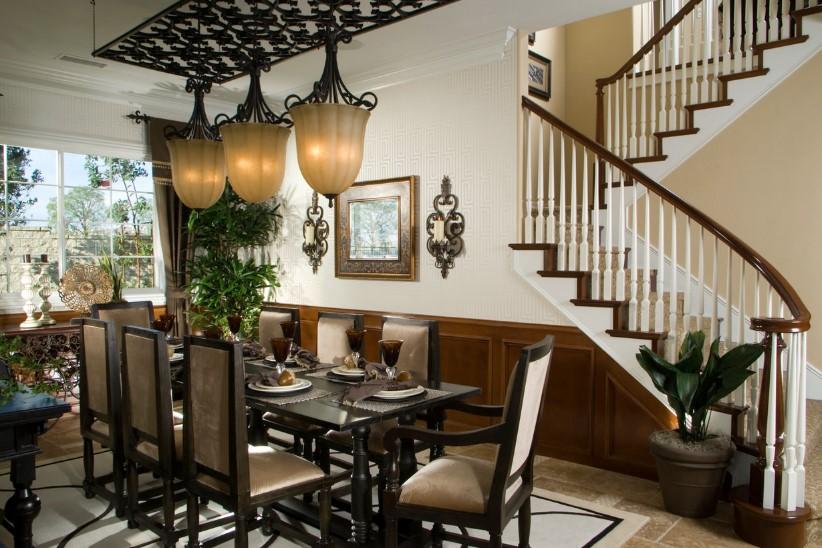 Desain Ruang Makan Mewah Klasik