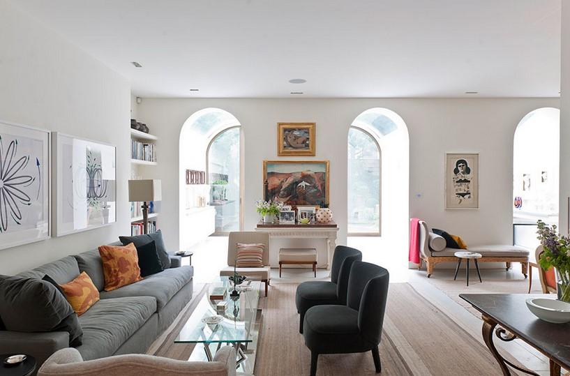 Desain Ruang Tamu Besar Sederhana