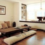 Desain Ruang Tamu Kecil Tanpa Kursi