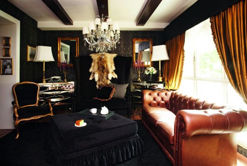Desain Ruang Tamu Klasik Gaya Eropa