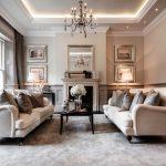 Desain Ruang Tamu Klasik Modern