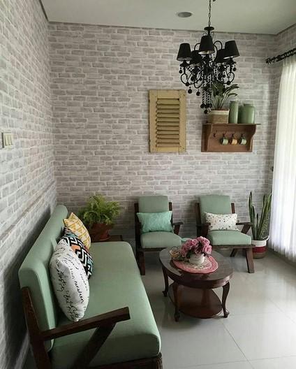 Desain Ruang Tamu Klasik Sederhana Rumahpedia