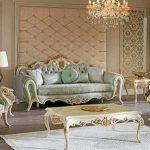 Desain Ruang Tamu Mewah Klasik
