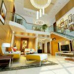 Desain Ruang Tamu Mewah Minimalis Modern