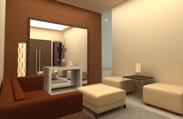 Desain Ruang Tamu Sederhana Sempit