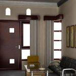 Desain Ruang Tamu Sederhana Type 36