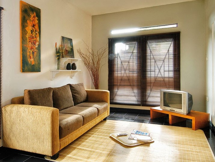 Desain Ruang Tamu Tipe 36