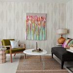 Desain Ruang Tamu Vintage Sederhana