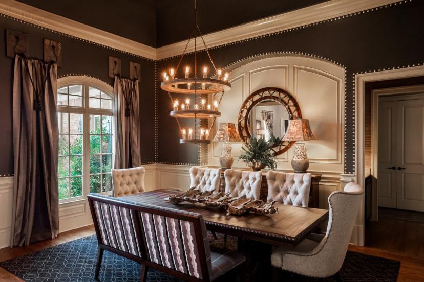 Desain Ruangan Makan Mewah