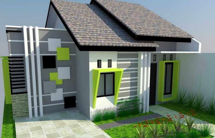 Desain Rumah Dua Teras Depan Dan Samping