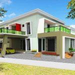 Desain Rumah Minimalis Teras Depan Dan Samping