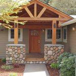 Desain Teras Depan Rumah Kayu