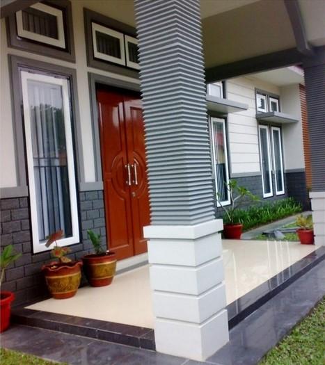 Desain Tiang Teras Depan Rumah