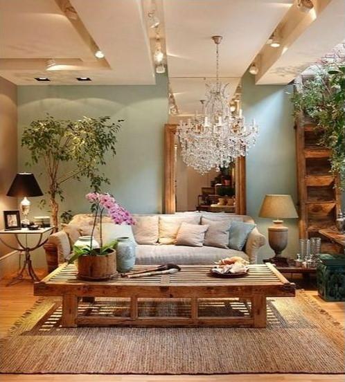 Desain Warna Cat Ruang Tamu Yang Sejuk