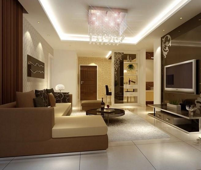 Design Interior Ruang Tamu Tipe 36