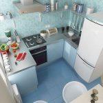 Gambar Desain Meja Dapur Sederhana