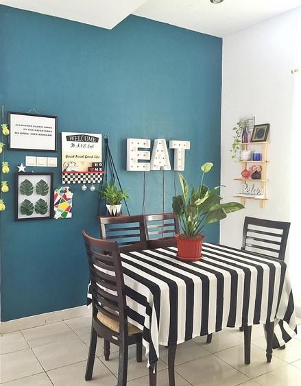 Gambar Dinding Ruang Makan Minimalis