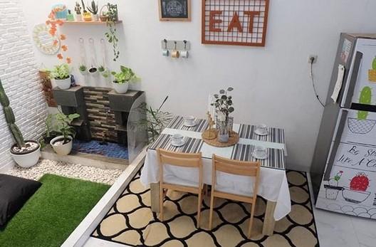 Gambar Interior Ruang Makan Minimalis