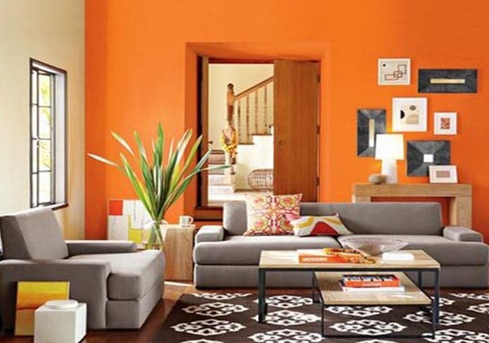 93 Contoh Desain Cat Ruang Tamu 2 Warna Yang Bisa Anda Tiru
