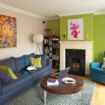 Ide Warna Cat Ruang Tamu Kombinasi 2 Warna