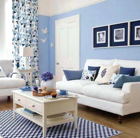 Ide Warna Cat Ruang Tamu Yang Bagus