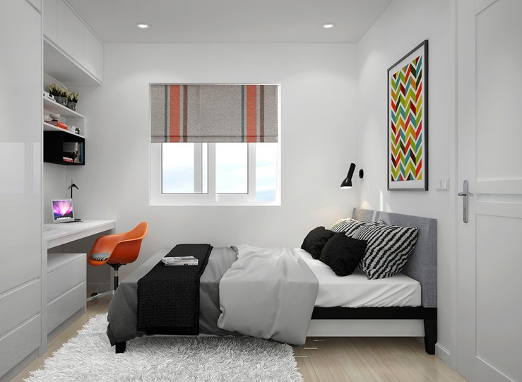 45 Ide Dekorasi Kamar Minimalis Simple Modern Top 2019