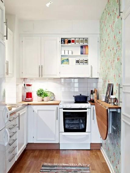 Interior Dapur Kecil Sederhana