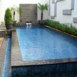Kolam Renang Villa Minimalis