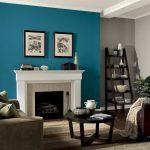 Kombinasi Cat Ruang Tamu 2 Warna