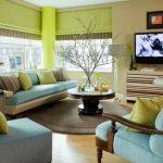 Kombinasi Cat Ruang Tamu Modern 2 Warna
