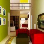 Kombinasi Warna Cat Ruang Tamu Sempit