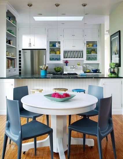 Model Ruang Makan Dan Dapur Sederhana