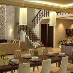 Model Ruang Makan Rumah Mewah