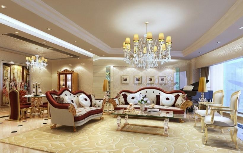 Model Ruang Tamu Rumah Mewah