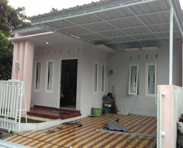 Model Teras Rumah 1 Lantai