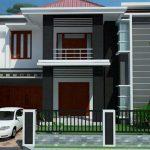Model Teras Rumah 2 Lantai Terbaru