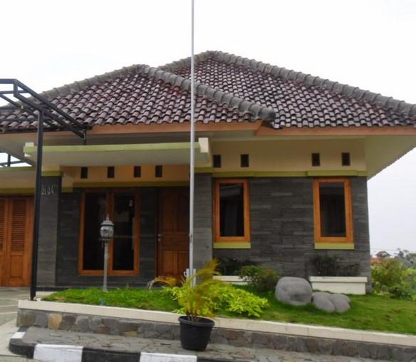 Model Teras Rumah Atap Genteng